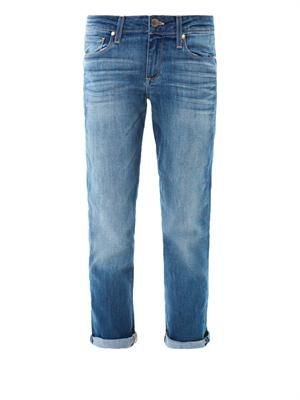 James mid-rise boyfriend cropped jeans