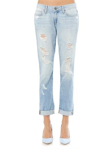 Paige Denim Tyler distressed boyfriend jeans