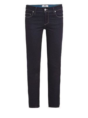 Kylie low-rise cropped skinny jeans