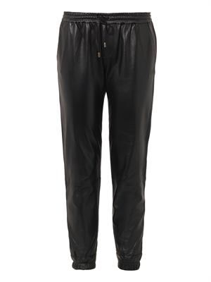 Jadyn leather trousers