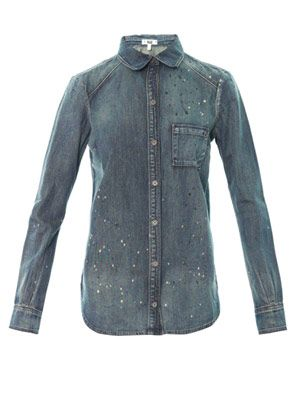 Eden denim shirt