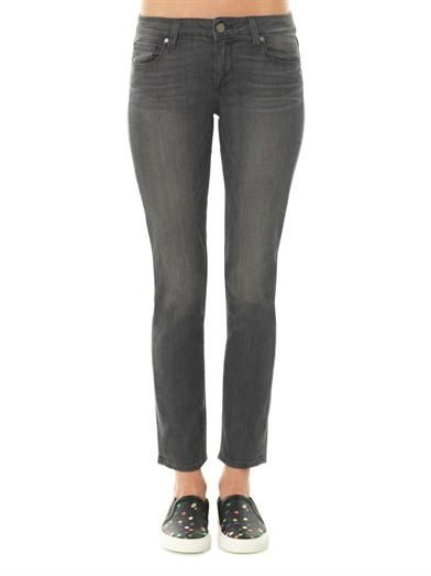 Paige Denim Skyline mid-rise straight jeans