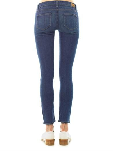 Paige Denim Skyline Ankle Peg mid-rise skinny jeans