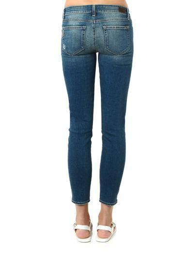 Paige Denim Verdugo mid-rise skinny jeans