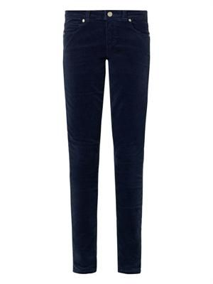 Verdugo mid-rise skinny corduroy jeans