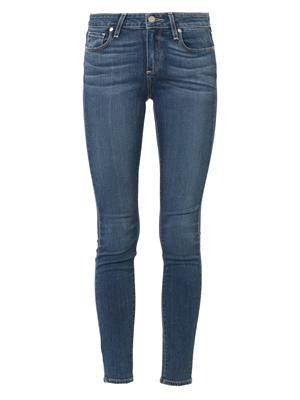 Verdugo Transcend mid-rise skinny jeans