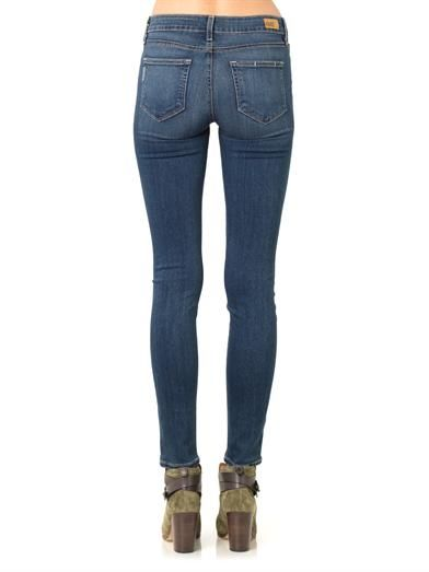 Paige Denim Verdugo Transcend mid-rise skinny jeans
