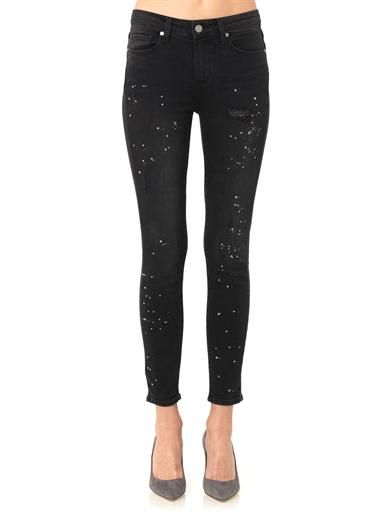 Paige Denim Hoxton high-rise skinny jeans