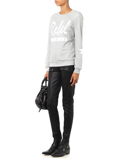 Paige Denim Edgemont mid-rise skinny jeans