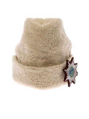 Love sheepskin cap