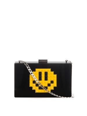 Grace Smile Perspex clutch