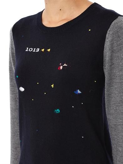 Boy. by Band Of Outsiders Atari asteroid intarsia-knit sweater
