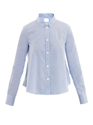 Cropped boxy shirt
