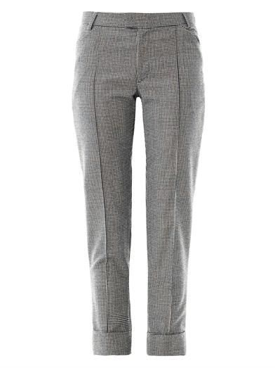 Boy. by Band Of Outsiders Houndstooth wool trousers
