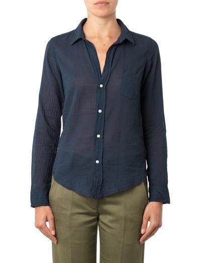 Frank & Eileen Barry cotton shirt