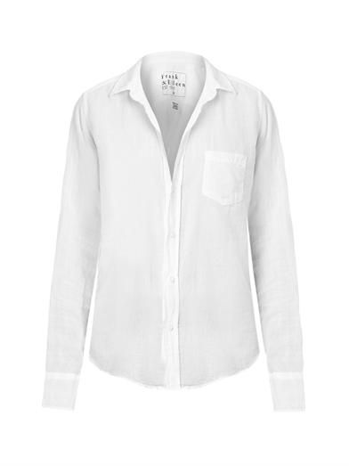 Frank & Eileen Barry linen shirt