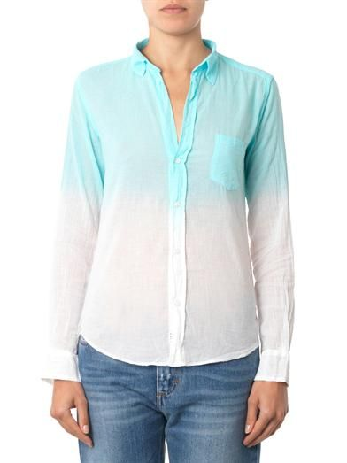 Frank & Eileen Barry ombré shirt