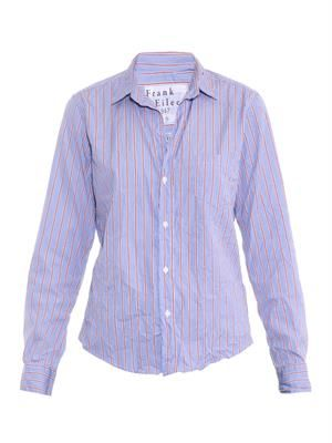 Barry striped cotton shirt
