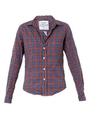 Barry plaid cotton shirt