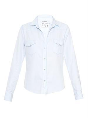 Barry Western denim shirt