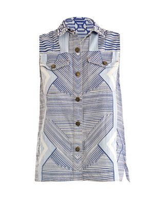 X Current/Elliott Keys Sleeveless shirt