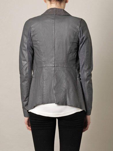 Anne Vest Leather blazer