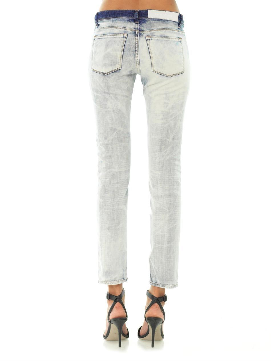 Как отбелить джинсы в домашних условиях: белизной без 70