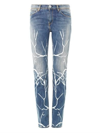 Each X Other Branch high-rise slouchy skinny jeans