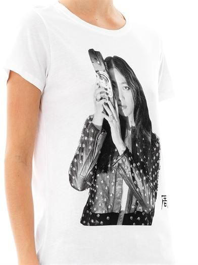 Each X Other Yi Zhou-print T-shirt