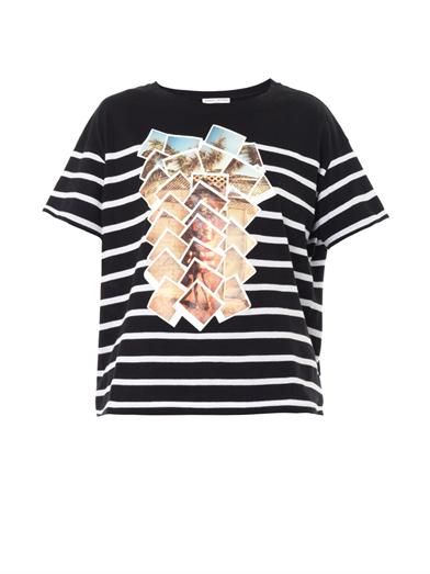 Each X Other Collage-print cotton T-shirt
