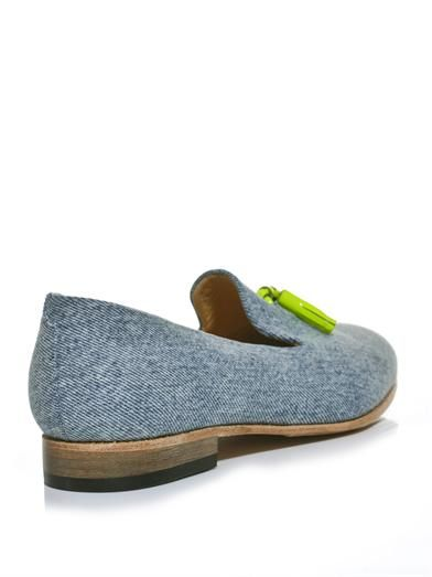 Dieppa Restrepo Gaston denim loafers