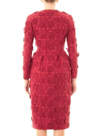 Giambattista Valli Couture Floral embroidered-silk coat