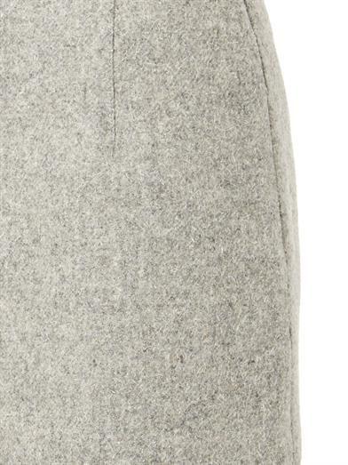 Atto Textured-wool mini skirt