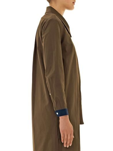 Joe Richards Leo cotton shirt coat