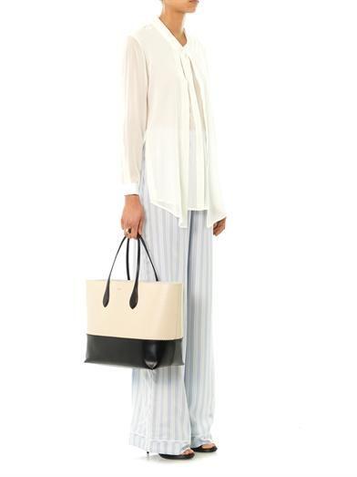 Joe Richards Sinziana silk-georgette blouse