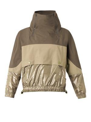 Performance rain jacket