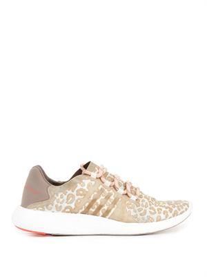 Pureboost leopard-print trainers