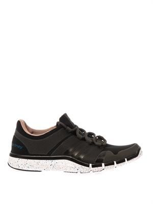 Adipure mesh and rubber trainers