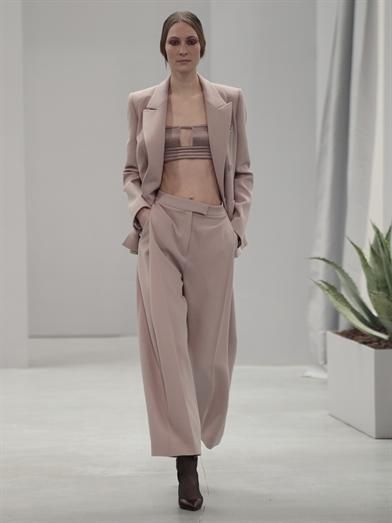 Barbara Casasola Double-breasted crepe blazer