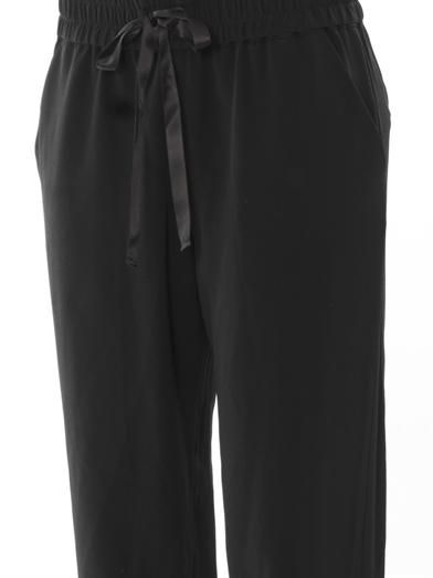 Ar Silk jogging pants