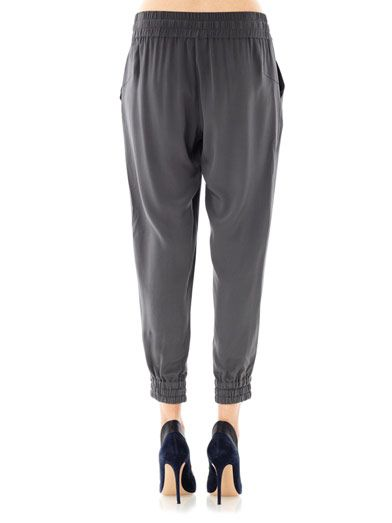 Ar Silk jogging trousers