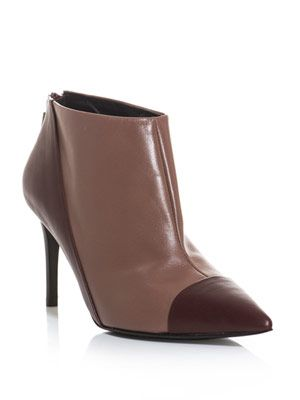 Nubie leather ankle boots
