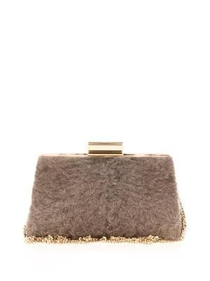 Fur box clutch