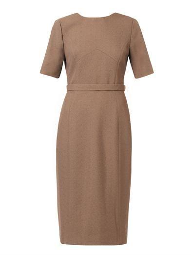 Jason Wu V-back wool-crepe dress