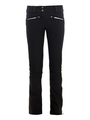 Bi-colour fitted performance ski pants
