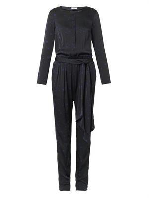 Helena star-print jumpsuit