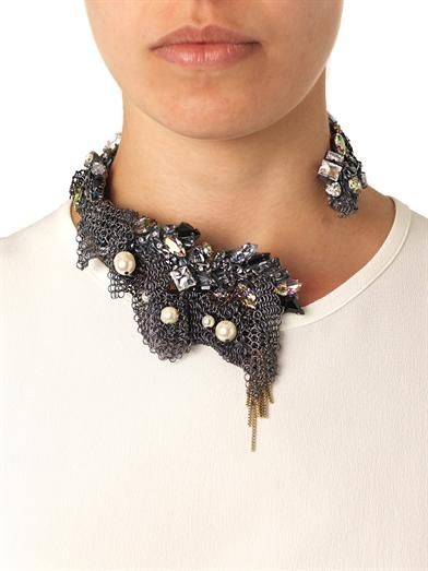 Vickisarge Nico collar necklace