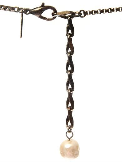 Vickisarge Nico snake-chain necklace