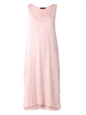 Double-layer jersey dress