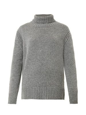 &DAUGHTER Roll-neck wool sweater